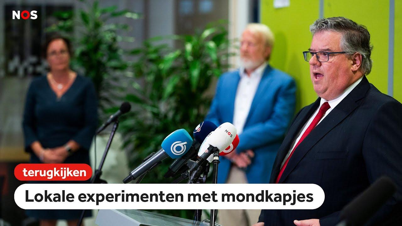 LIVE: mondkapjes overleg met minister en burgemeesters