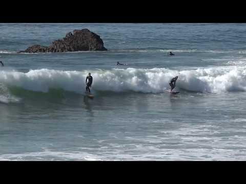 Surfing Leo Carillo