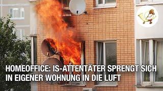 Homeoffice: IS-Attentäter sprengt sich in eigener Wohnung in die Luft