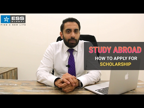 Study Abroad - How to Apply for Scholarship