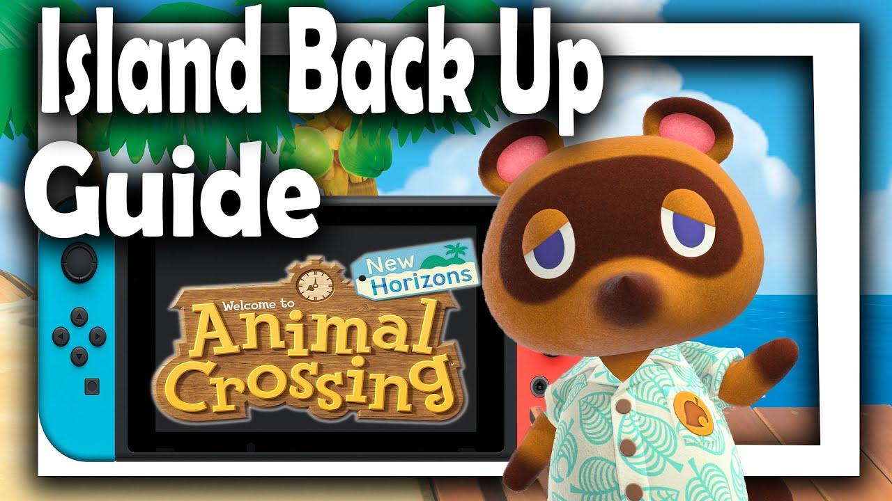 animal crossing switch backup