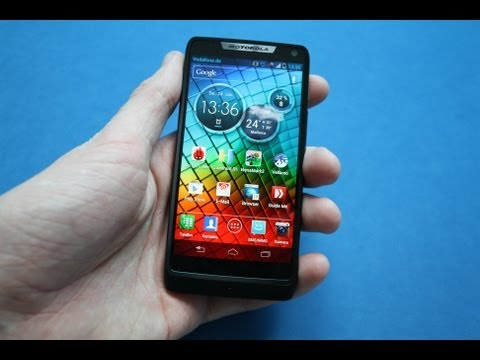 Motorola RAZR i - Review deutsch