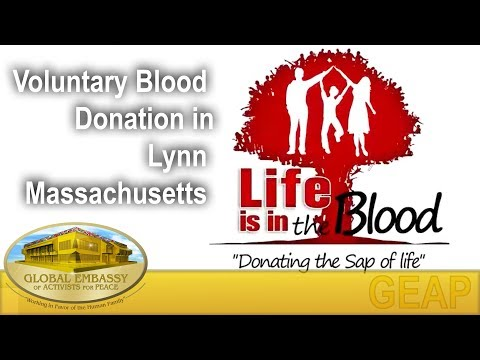 Voluntary Blood Donation in Lynn - Massachusetts   GEAP