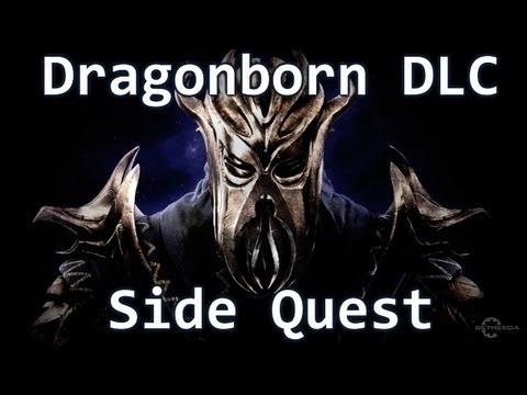 Skyrim Dragonborn DLC - Side Quest - The Ebony Warrior |