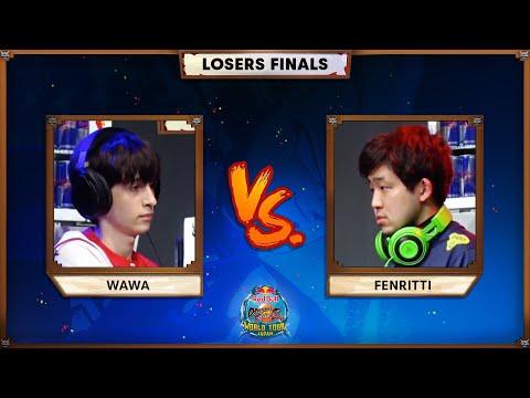WAWA Vs FENRITTI (Losers Final) | Red Bull DBFZ World Tour Japan