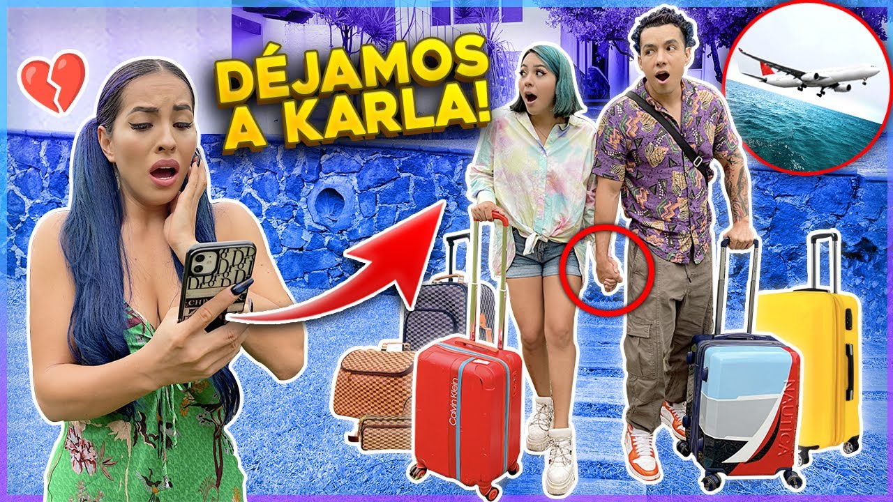 Download NOS VAMOS DE VIAJE A LA PLAYA SIN KARLA 😰   TERMINO MUY MAL @Karla Bustillos  Mau Mc Mahon