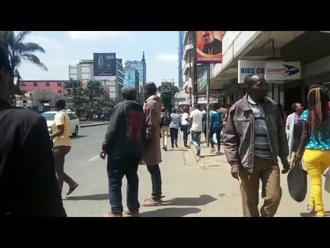 30 Minute Walk in Nairobi, Kenya
