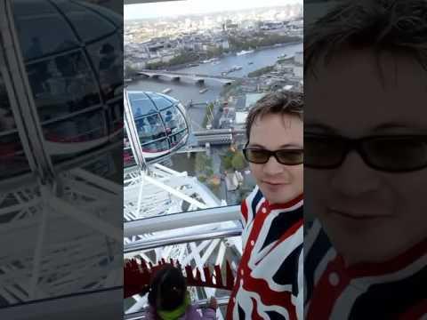 Vazo em Londres - London Eye