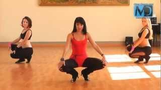Стрип-пластика. Видео урок №3 от MostDance.com (Оля Swan)