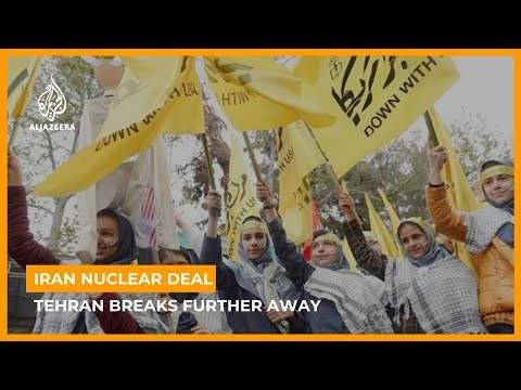 Iran breaks further away from crumbling nuclear deal