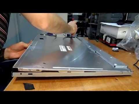 """Ремонт монитора Benq E2420HD (24"""")  Замена ламп подсветки"""