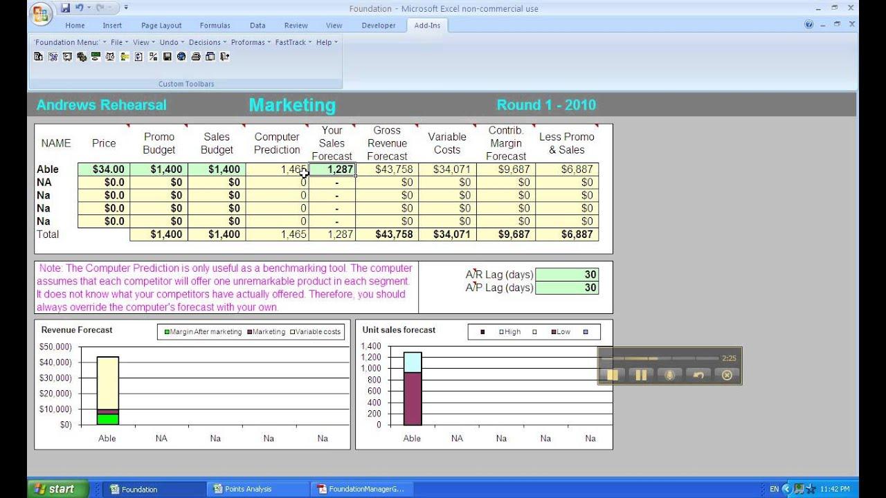 😂 Capacity analysis capsim  Capsim Final  2019-02-01