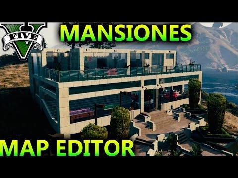 LAS MEJORES CASAS DEL MUNDO EN GTA 5 PC MAP EDITOR