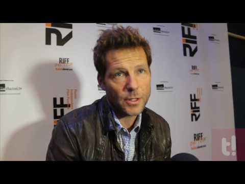 """Jamie Bamber di """"Battlestar Galactica"""" in esclusiva al RIFF presenta Money il suo nuovo film"""