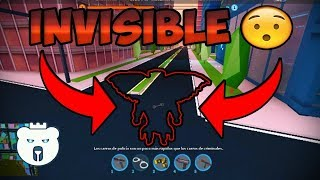 HOW TO BE INVISIBLE within 100% REAL JAILBREAK (Roblox)