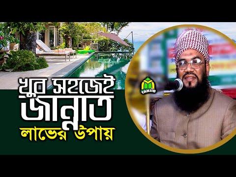 "Bangla Waz 2018 ""অতি সহজেই জান্নাত লাভের উপায়"" Hafez Maulana Abdul Majid"