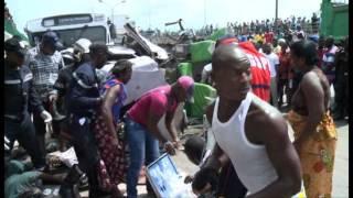 Abidjan - Riviera 2 : 20 blessés graves dans un accident sous l