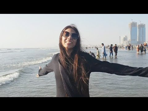 Karachi Tour in 6 Hours | Restaurants, Clifton Beach, Do Darya, Markets | Life With Amna