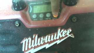 Milwaukee Jobsite Radio 4924-0200 Punch Eq Tuner Interference