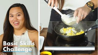 50 People Try to Make a French Omelette | Basic Skills Challenge | Epicurious