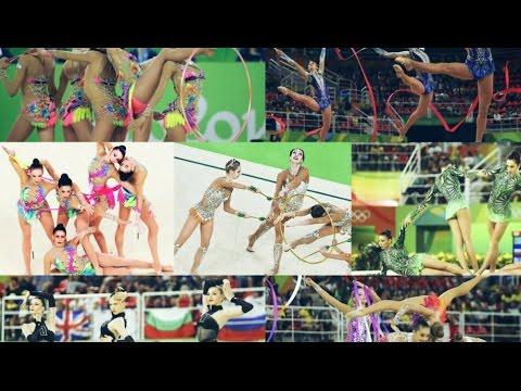 Rhythmic Gymnastics Teams Rio 2016 || Power