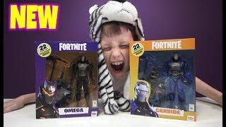 McFarlane FORTNITE Wave 3 Fortnite Skins OMEGA and CARBIDE Merchandise shop with me hot toys