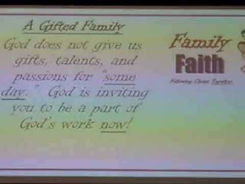 """""""A Gifted Family 9 27 15"""""""
