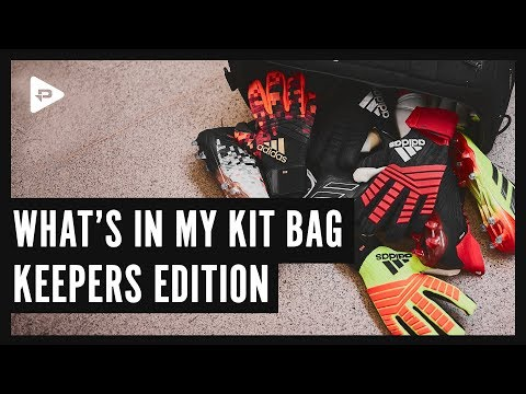 WHAT'S IN MY KIT BAG: KEEPERS EDITION