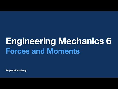 Engineering Mechanics Part 4.1 - Forces and Moments