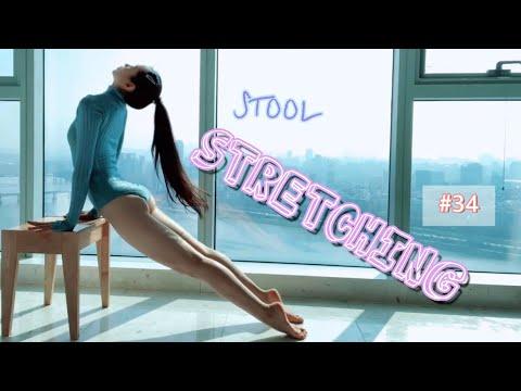 sang-a's-stretching-with-stool-#34-미세먼지-없는-날