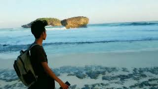 Aluto - Michi (to you all) cover video music sub indo at pacitan beach Naruto ending songs