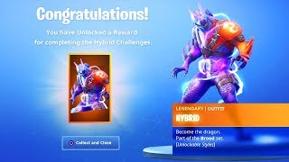 The MAX Hybrid Skin in SEASON 8 - Fortnite Battle Royale (Max Battle Pass Skin)