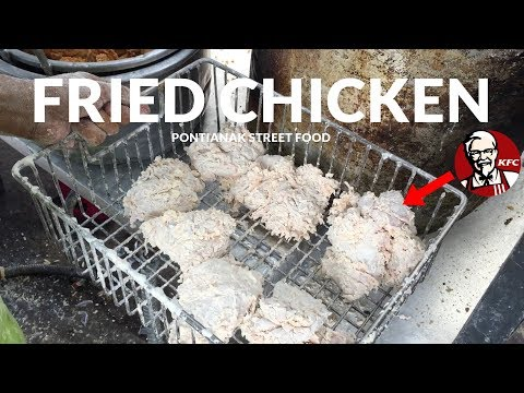 SANGAT LARIS DAN MIRIP KFC !! PARIS FRIED CHICKEN DI JALAN PARIS 2 | PONTIANAK STREET FOOD #147