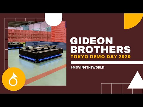 Presenting ... Gideon Brothers - Tokyo Demo Day 2020 HORVÁT ROBOTIKA: Gideon fivérek, a raktárak urai, avagy jönnek a koronarobotok HORVÁT ROBOTIKA: Gideon fivérek, a raktárak urai, avagy jönnek a koronarobotok hqdefault