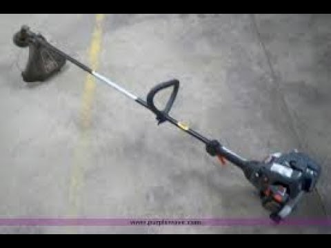 will it run ? craftsman string trimmer from the free pile.