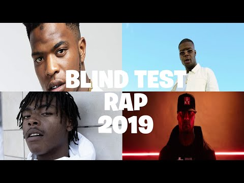 BLIND TEST RAP FR 2019 (Début 2020)