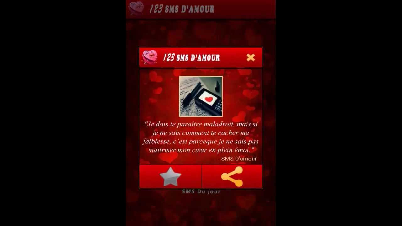 123 Sms Damour Application Android