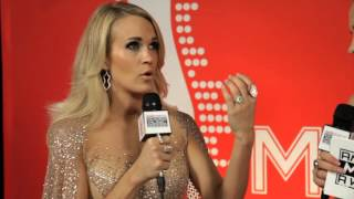 Carrie Underwood Backstage Interview - AMAs 2015