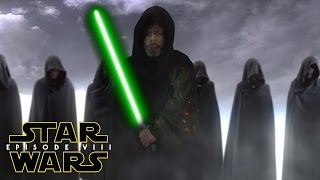 Star Wars Episode 8 (VIII) Luke Skywalker & Knights Of Ren SPOILERS