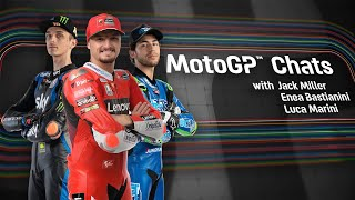 MotoGP™ Chats with Miller, Marini and Bastianini
