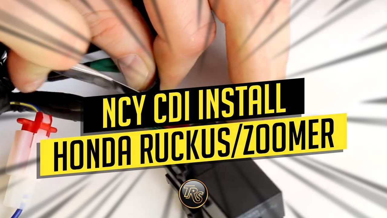 small resolution of ncy cdi install video for honda ruckus 49cc