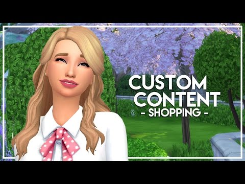 The Sims 4: Custom Content Shopping - EXPOSED!