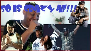50 Cent Gets Heated When He's Told His Time Is Up On Stage! REACTION!!!