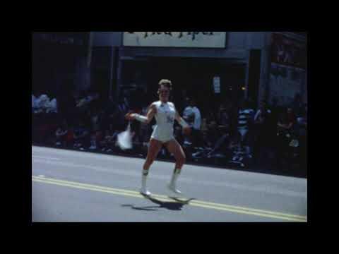 Hamlin High School band at the 1972 Huntington Band Festival parade