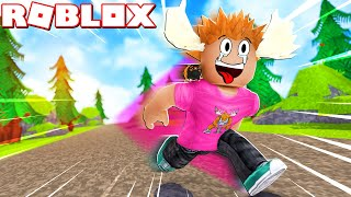 VERDENS HURTIGSTE ELG?! - Roblox Speed Run Simulator