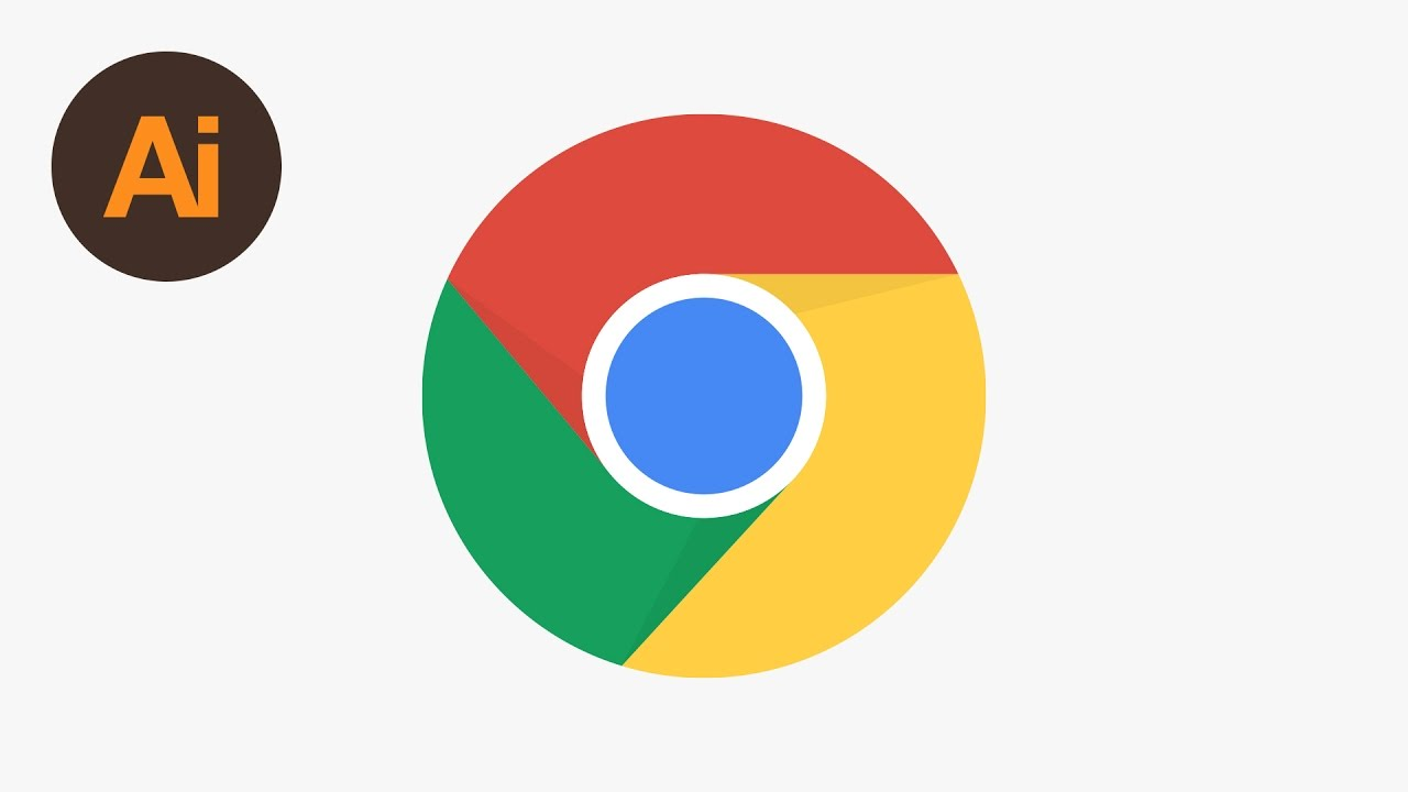 Design the Chrome Logo Illustrator Tutorial