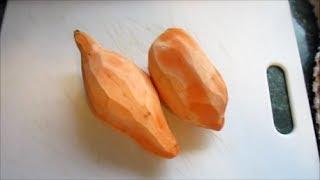 How To Make And Store Homemade Sweet Potato Puree Baby Food!