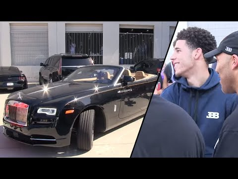 lonzo ball buys lavar ball rolls royce for christmas - youtube