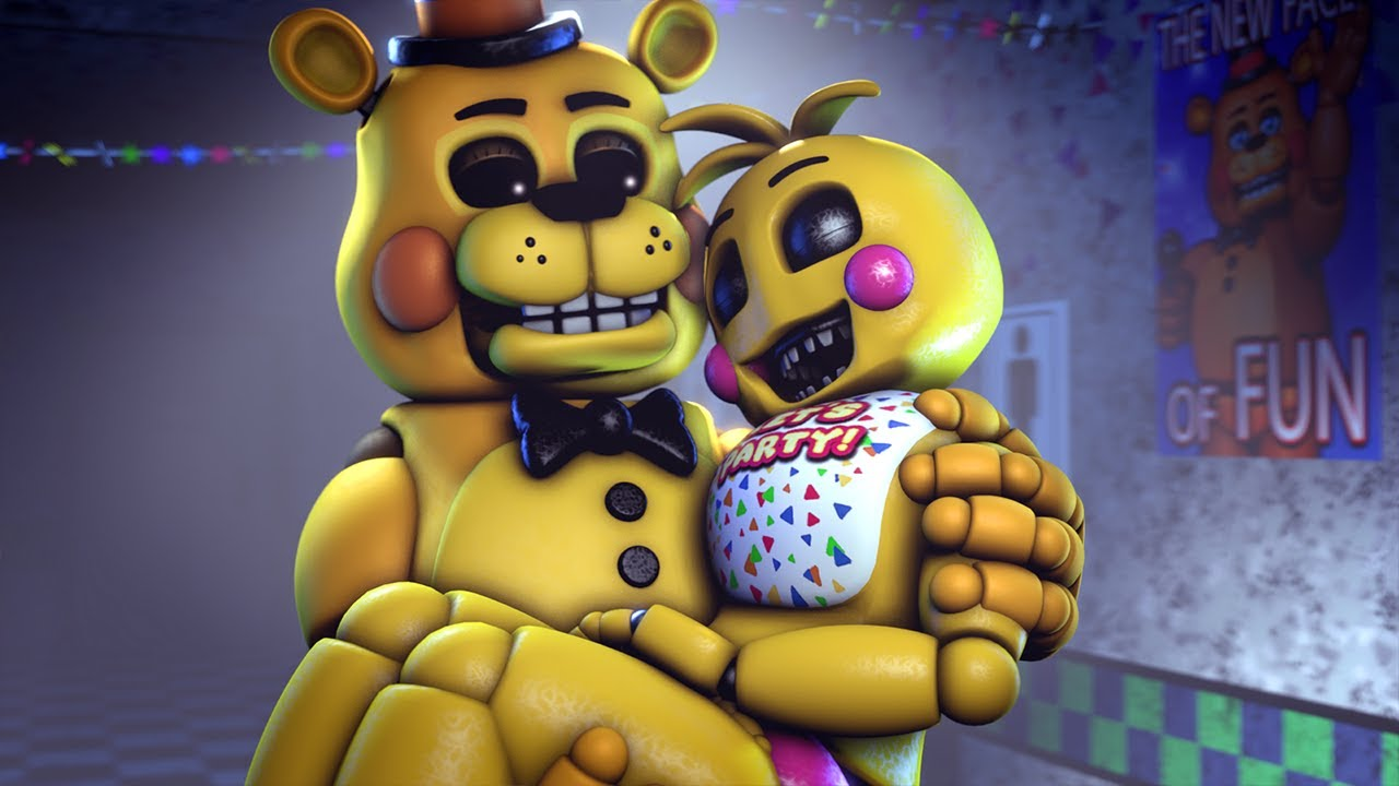 FNAF IMPOSSIBLE TRY NOT TO LAUGH (Five Nights At Freddy's Animations Challenge) thumbnail