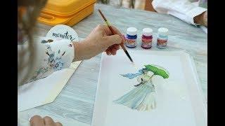 Pintar Tela - Camisa Blanca - Diseño Claude Monet